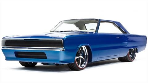 Mopar transformó un Dodge Coronet R/T 1967 en algo muy poderoso
