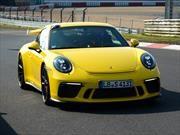 Porsche 911 GT3 2018 se luce a lo grande en Nürburgring