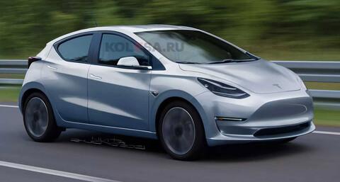Tesla Model 2, así sería el anti Golf eléctrico