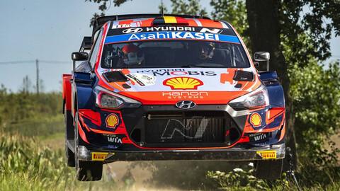 WRC 2021: En Bélgica, fue todo de Thierry Neuville