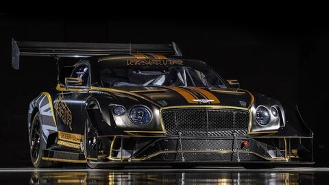 Bentley Continental GT3 por FastR: un auto de carreras creado para Pikes Peak