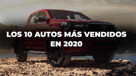Los 10 autos más vendidos en Argentina en 2020