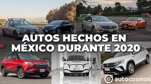 Estos son los vehículos producidos en México durante 2020