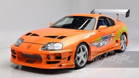 Se vende el icónico Toyota Supra de Rápido y Furioso
