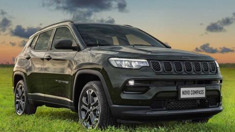 Jeep Compass 2022 ya se ofrece con facelift y Turbo en Brasil