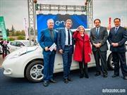 Nissan Chile entrega a Enel la flota más grande de autos eléctricos en Sudamérica
