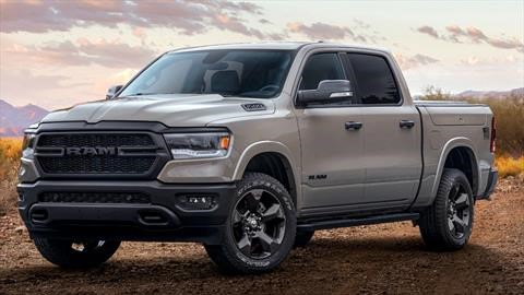 RAM 1500 Built to Serve Edition, con el cuerpo a tierra