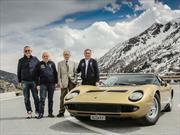 Lamborghini celebra el medio siglo del Miura al estilo The Italian Job