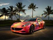 Ferrari FF es convertido en una obra de arte por DUAIV