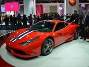 Ferrari exprime el V8 de la 458 con la edición Speciale