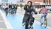 Habilitan 22 kilómetros de ciclovías temporales en Bogotá