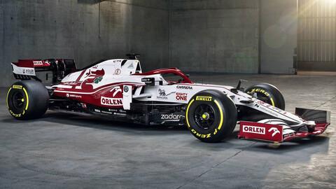 F1 2021: Alfa Romeo C41-Ferrari llega con esperanzas renovadas