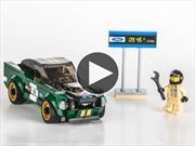 Video: Este Ford Mustang Fastback 1968 de Lego no se lo vas a querer regalar a tus hijos