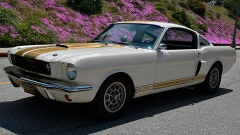 A la venta uno de los codiciados Mustang Shelby GT350H 1966