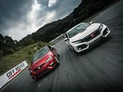 Comparativa: Honda Civic Type R 2017 VS SEAT León CUPRA 2017