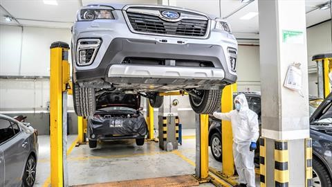 Subaru ofrece servicio posventa a domicilio