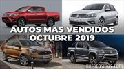 Los 10 autos más vendidos en Argentina en octubre de 2019
