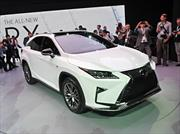 Lexus RX 2016, con mejor desempeño y diseño
