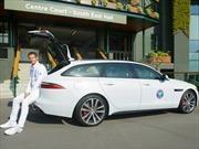 Andy Murray develó el nuevo Jaguar XF Sportbrake