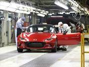 Mazda llega a los 50 millones de carros producidos en Japón