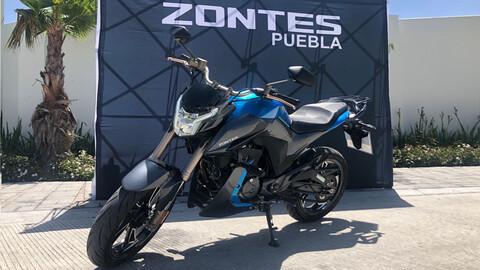Zontes motocicletas celebra dos años en México
