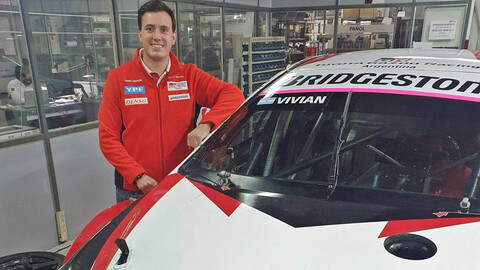Súper TC2000 2020: Franco Vivian se incorpora a Toyota