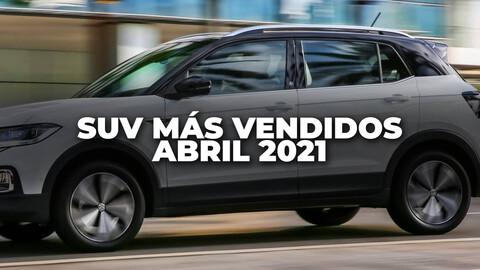 Los SUV más vendidos de Argentina en abril de 2021