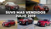 Los 10 SUVs más vendidos en julio de 2019