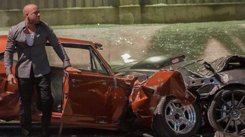 ¿Cuántos autos se han destrozado en todas la películas de Rápido y Furioso?