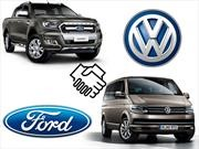Volkswagen y Ford desarrollarán vehículos comerciales en conjunto