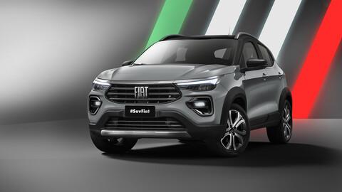 FIAT libera las primeras imágenes oficiales de su nuevo SUV