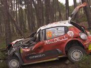 WRC 2018: Kris Meeke es despedido del equipo Citroen por sus riesgosos accidentes