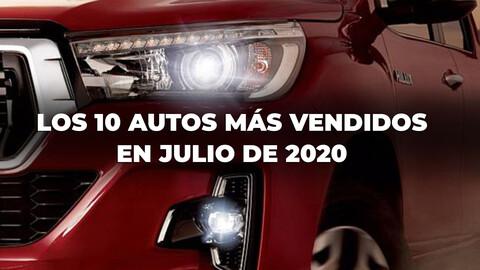 Los 10 autos más vendidos en Argentina en julio de 2020