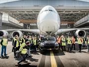 Porsche junto a Air France imponen Guinness Récord