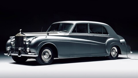 Dos clásicos Rolls-Royce vuelven a la vida con la ayuda de motores y baterías eléctricas