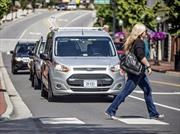 Ford crea lenguaje para que los vehículos autónomos se comuniquen con la gente