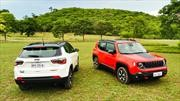 Probando los Jeep Renegade y Compass Trailhawk