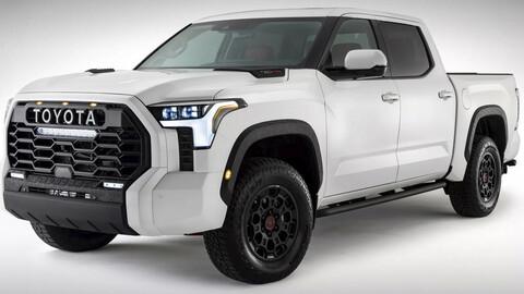 Primeras imágenes de la Toyota Tundra 2022