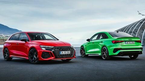 Audi RS 3 Sportback y RS 3 Sedan 2022, nuevos y más deportivos