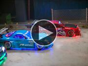 Video: Autos de radio control haciendo drift