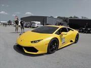 Un Lamborghini Huracán con 2,500 hp rompe récord de velocidad en media milla