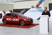 Mazda fabrica su unidad 100,000 en México