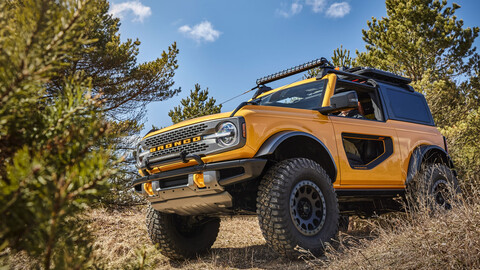 Ford Bronco 2021, renace el legendario 4x4