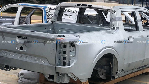 La nueva Ford Maverick fue espiada directamente en la fábrica