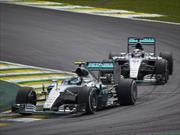 F1 GP de Brasil Rosberga gana y asegura el subcampeonato