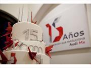 Audi cumple 15 años en México