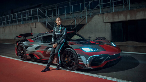 Video: Mercedes sigue avanzado con el Project ONE