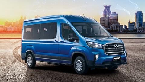Maxus amplia su gama de minibuses con el nuevo V90 2020