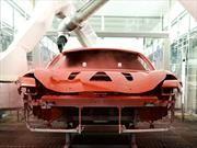 Ferrari anticipa importantes avances en procesos de pintura automotriz