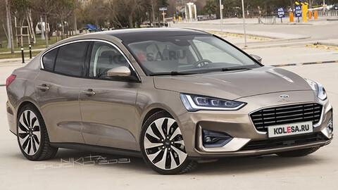 Imaginemos como sería el nuevo Ford Focus sedán
